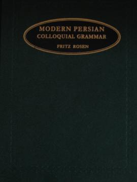 Modern Persian Colloquial Grammar