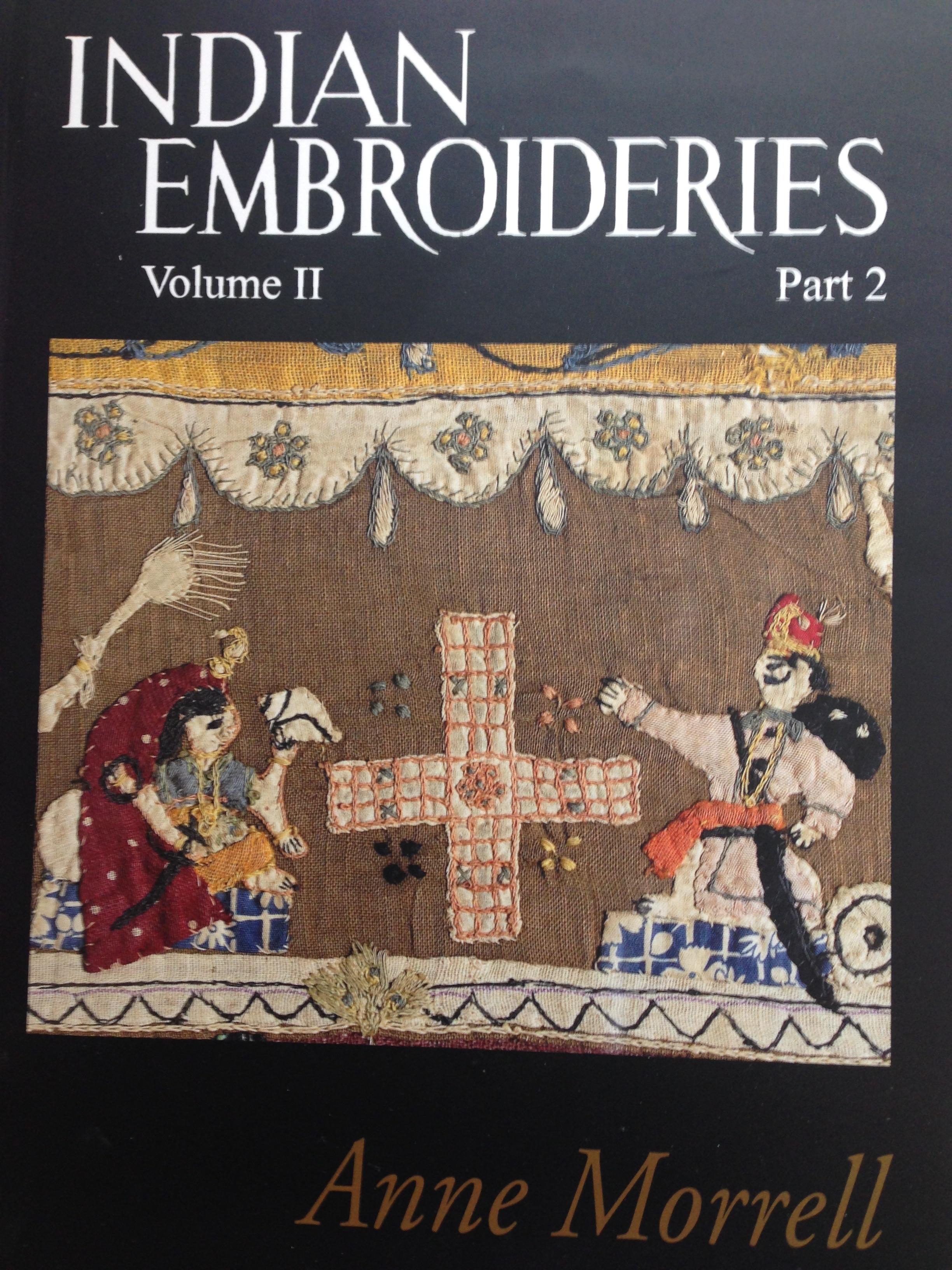 Indian embroidery volume ii part 2 con dvd calico museum for Libri in italiano
