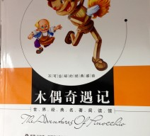 The Adventures of Pinocchio in cinese