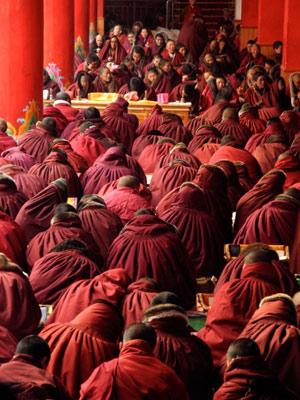 monache-tibetane